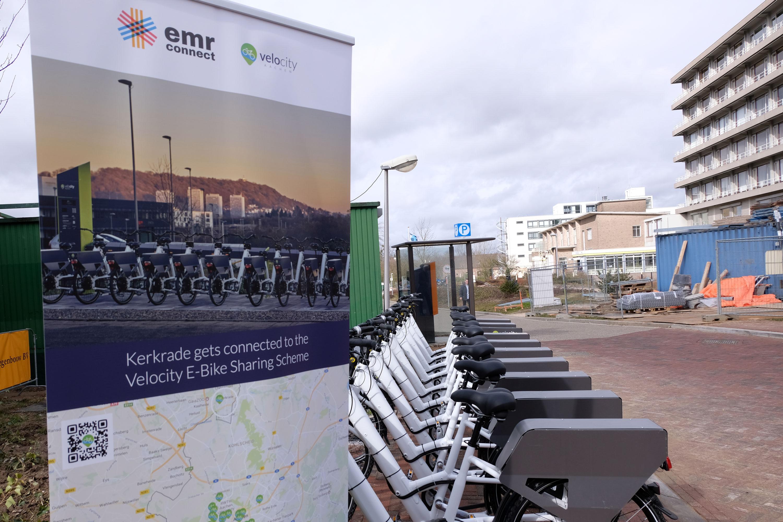 Kerkrade Niederlande kerkrade bekommt velocity leihstation für e bikes interreg projekt