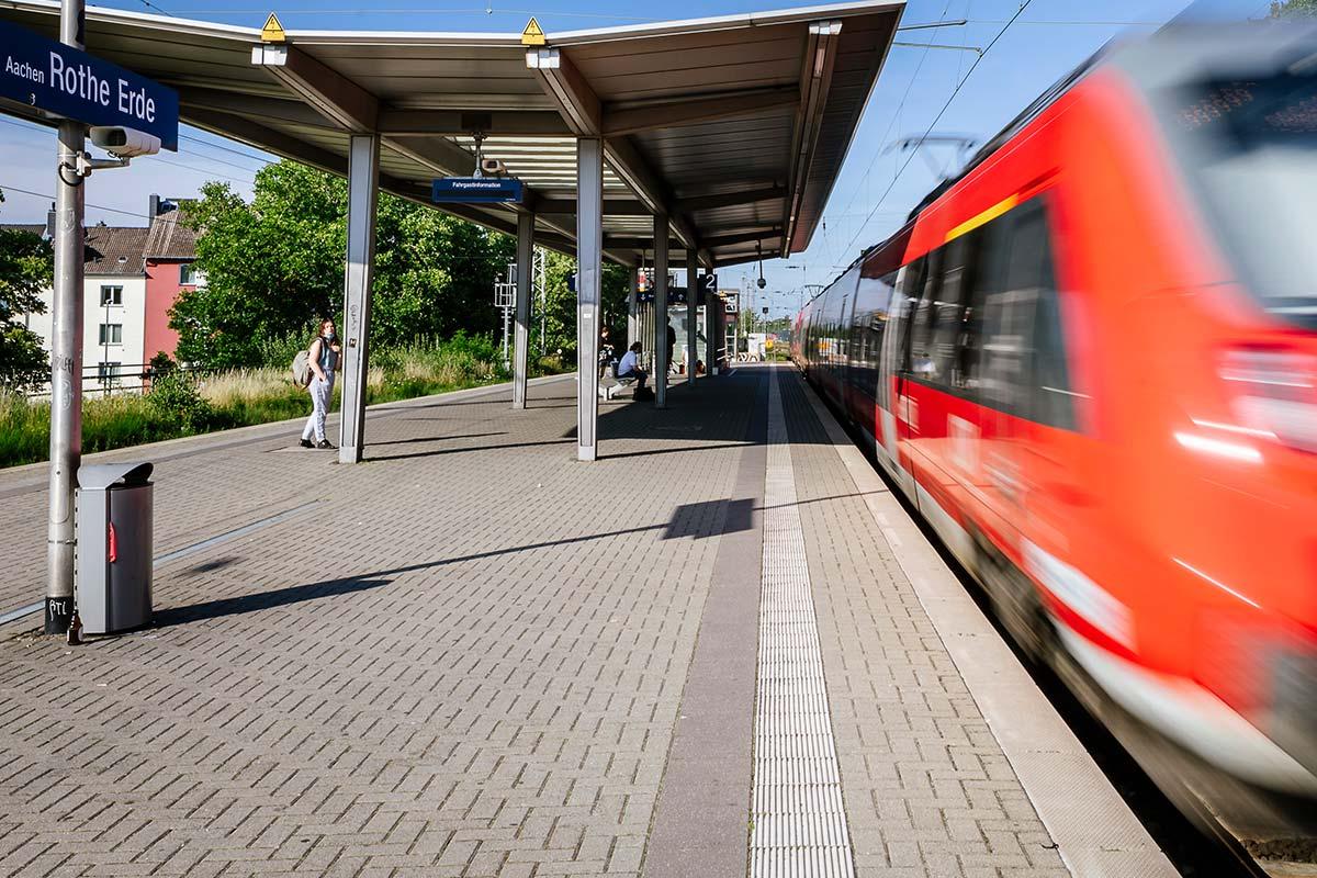 Schienenersatzverkehr Aachen Düren